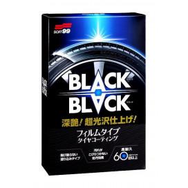 Soft99 BLACK BLACK Hard Tire Coat 110ml - zabezpieczenie opon do 60 dni