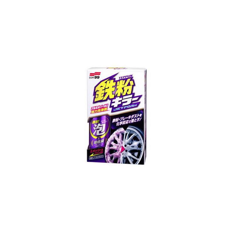 Soft99 Jet Foam Breake Dust Remover 280ml - spray + szczoteczka