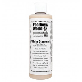 Poorboy's World White Diamond Show Glaze 473ml - politura do jasnych lakierów