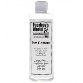 Poorboy's World Trim Restorer 473ml - dressing do plastików zewnętrznych