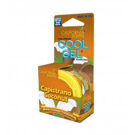 California Scents Cool Gel Boxed - Capistrano Coconut